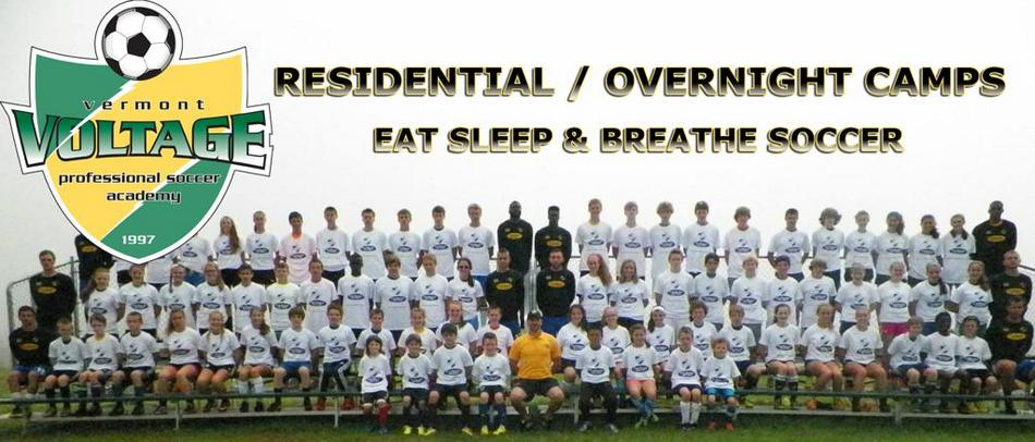 Residential Soccer Camps Vermont