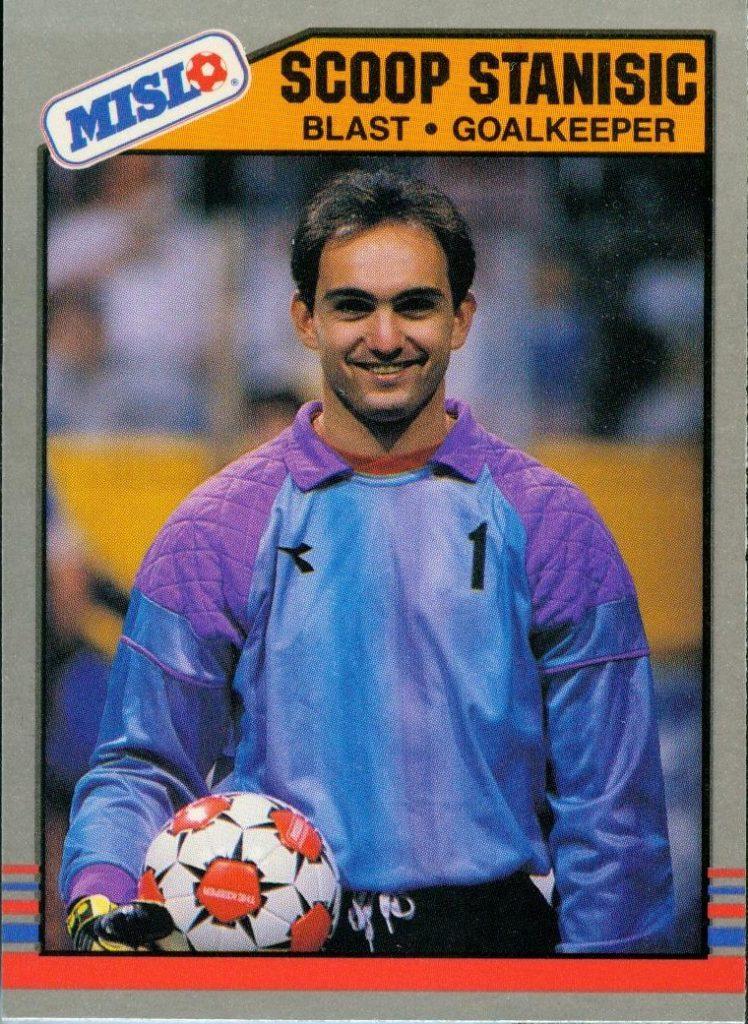 Blast 88-89 Goalie Scoop Stanisic