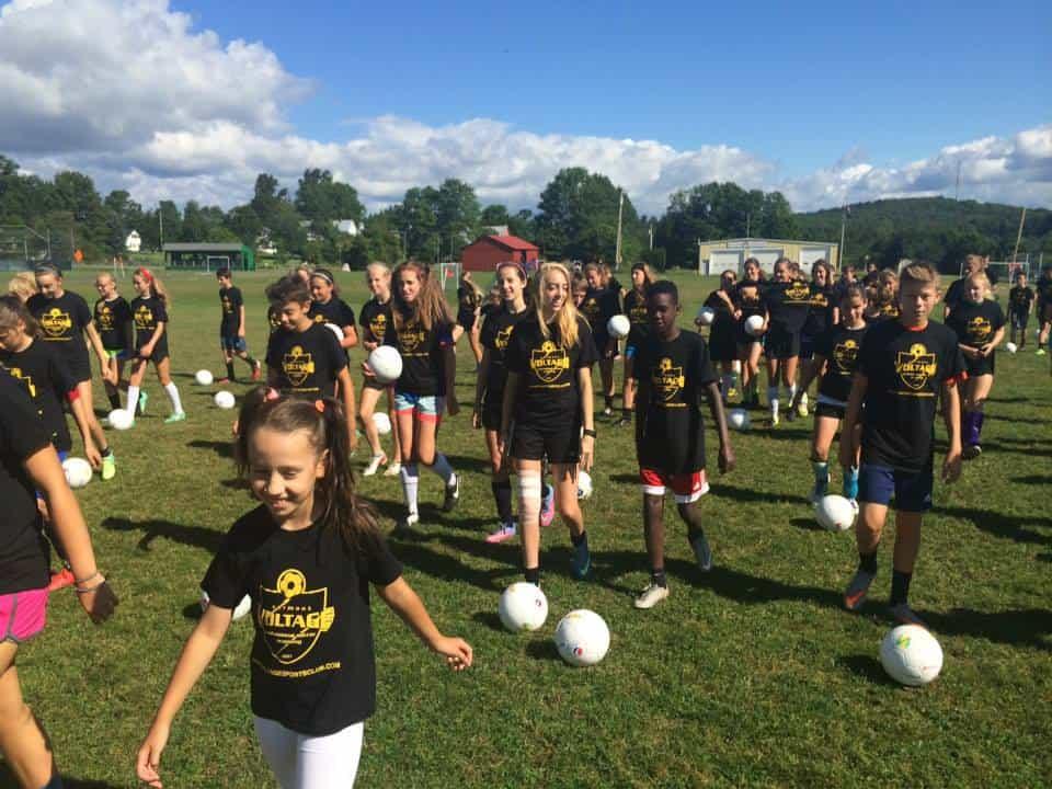 Vermont Voltage Soccer Camps