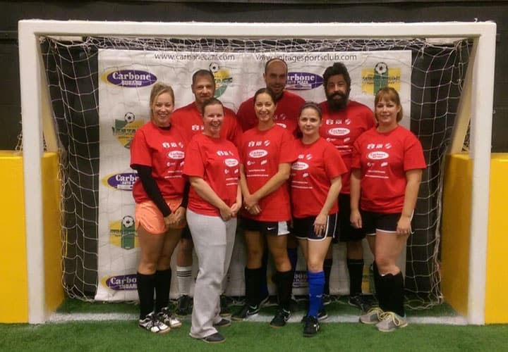 coed soccer league Vermont